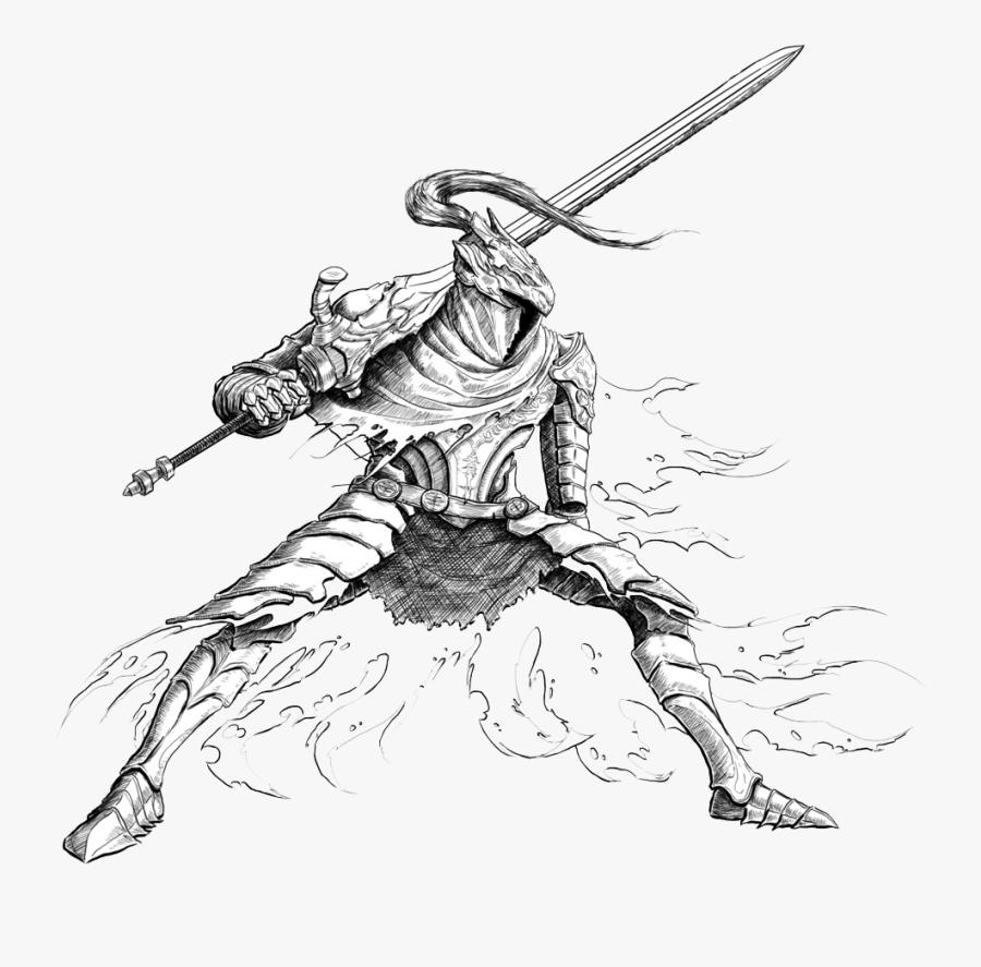 Download Dark Souls Artorias Png Clipart - Dark Souls Artorias Drawing, Transparent Clipart