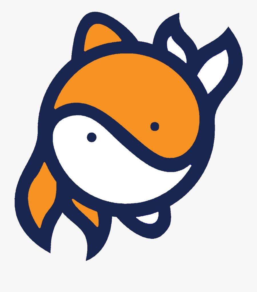 Yin Yang Fish Logo Free Transparent Clipart Clipartkey