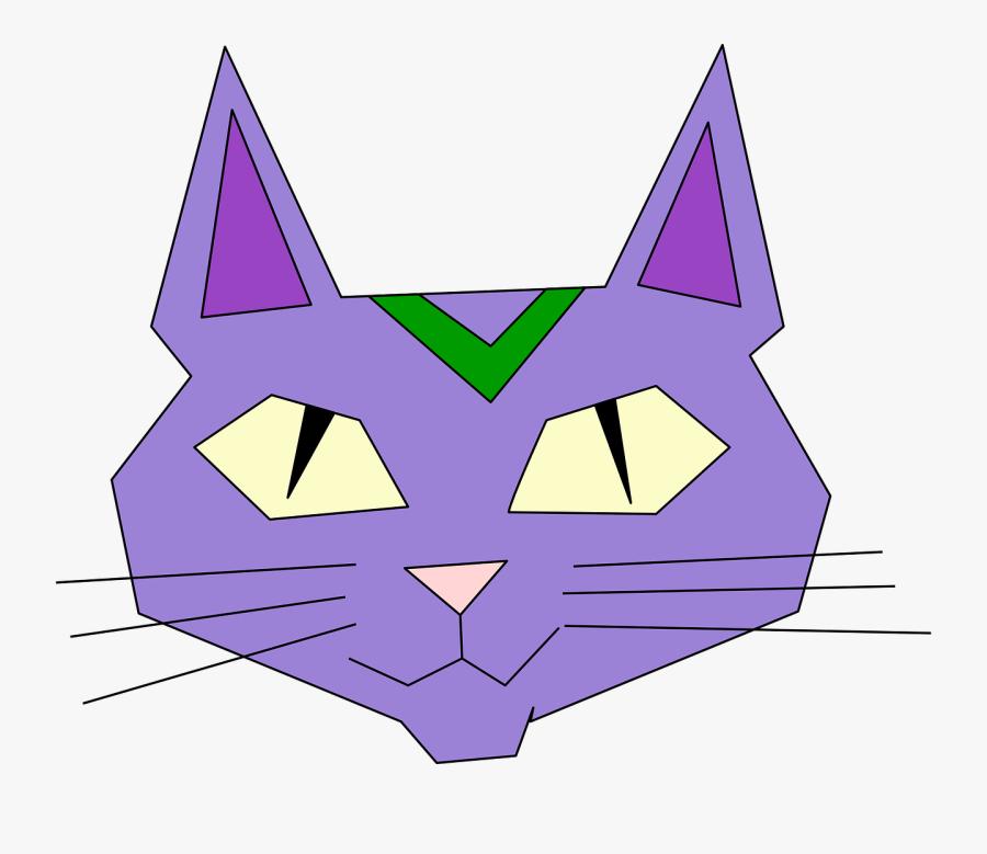 Triangle,leaf,symmetry - แมว กราฟฟิก, Transparent Clipart