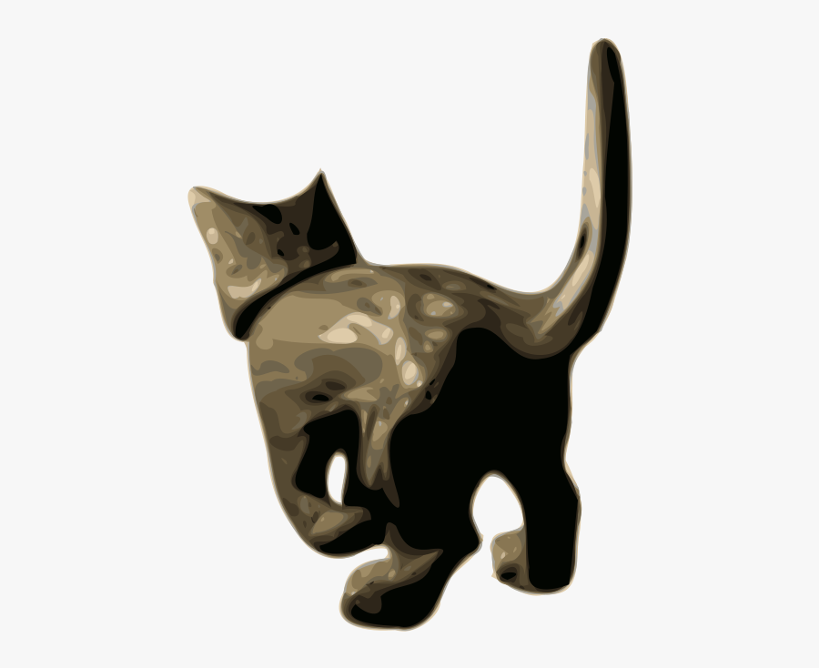 Small To Medium Sized Cats,whiskers,cat Like Mammal - Bull, Transparent Clipart