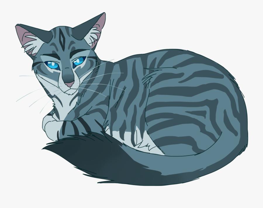 To Medium Sized Cat,clip Character,domestic Short Haired - Warrior Cats Jay Feather, Transparent Clipart