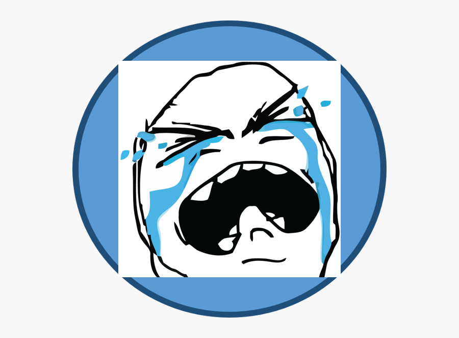 Vacation For Objects Face - Sad Troll Face Png, Transparent Clipart