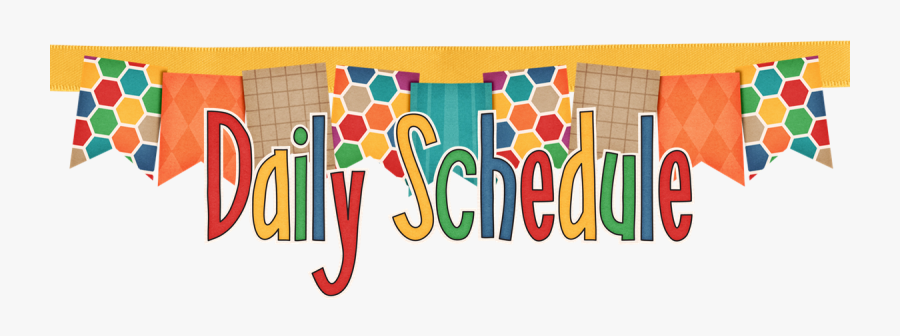 Transparent Daily Schedule Clipart - Schedule Kindergarten Daily , Free  Transparent Clipart - ClipartKey