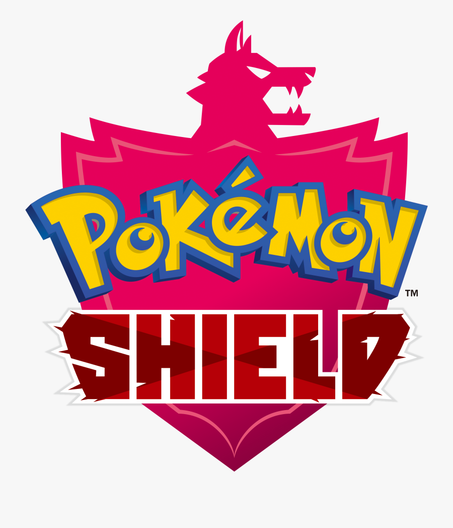 Transparent Shield Png Logo - Pokemon Sword Shield Logo, Transparent Clipart