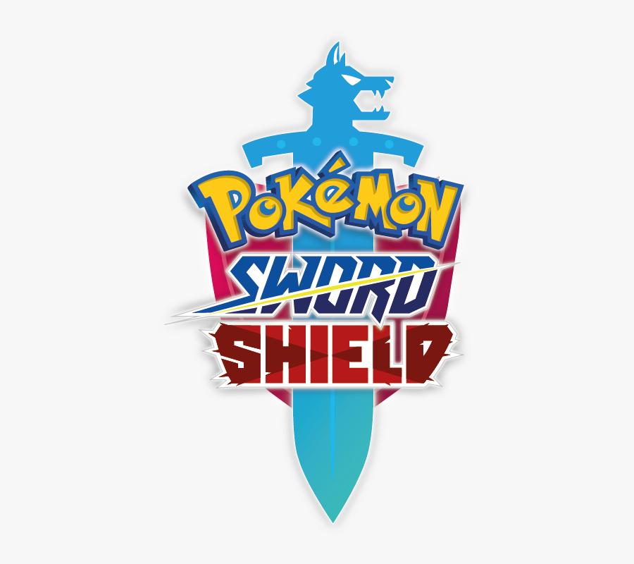 Pokémon Sword And Shield Logo - Pokemon, Transparent Clipart