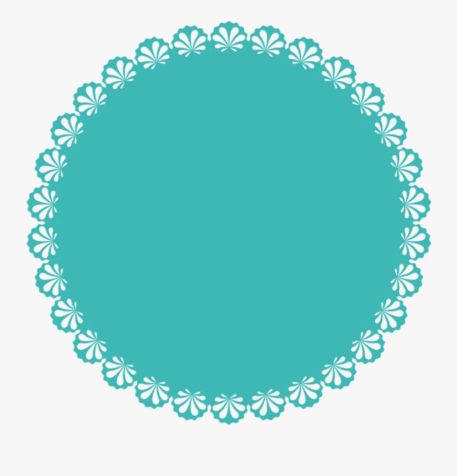 Transparent Scallop Circle Png - Escalope Png, Transparent Clipart