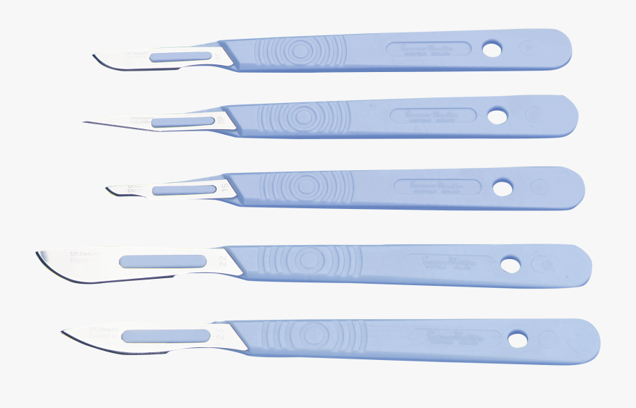 Transparent Scalpel Png - Disposable Scalpel And Blade Use, Transparent Clipart