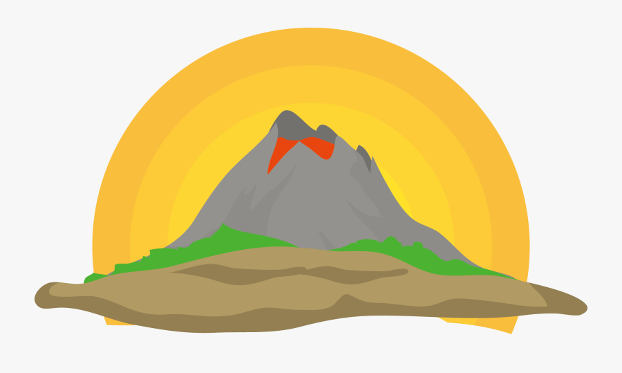 Collection Of Free Volcano Drawing Realistic Download - Clip Art, Transparent Clipart