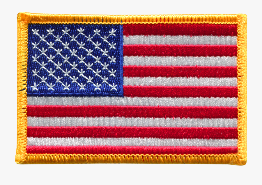 American Flag Logo Png - Nasa American Flag Patch, Transparent Clipart