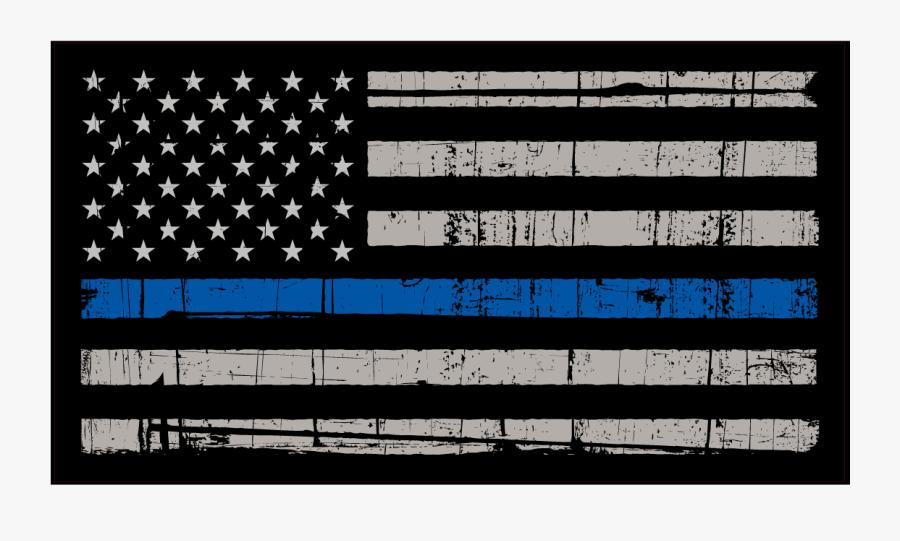 Blue Life Matters Flag, Transparent Clipart
