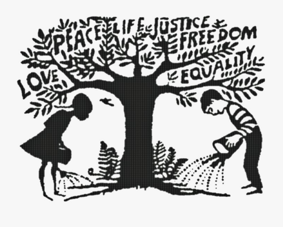 The Peaceful Planet Social - Poetry Social Justice, Transparent Clipart