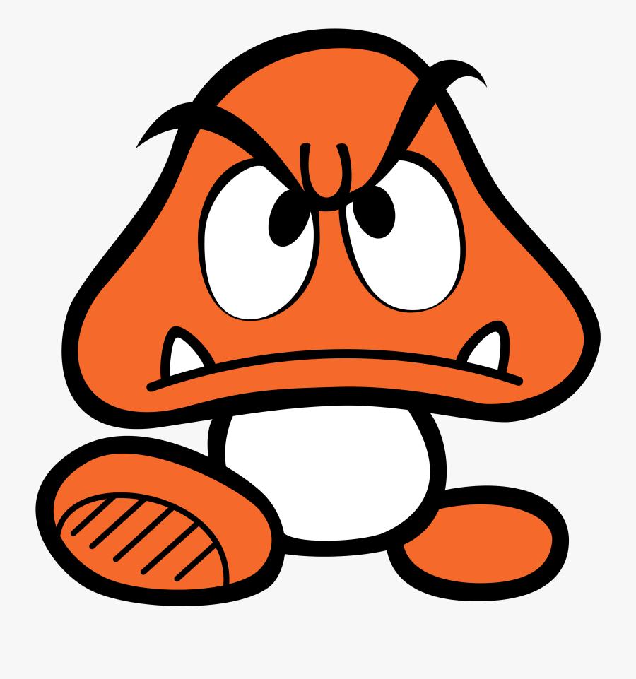 Mario Mushroom Png Super Mario Bros Goomba Art Free