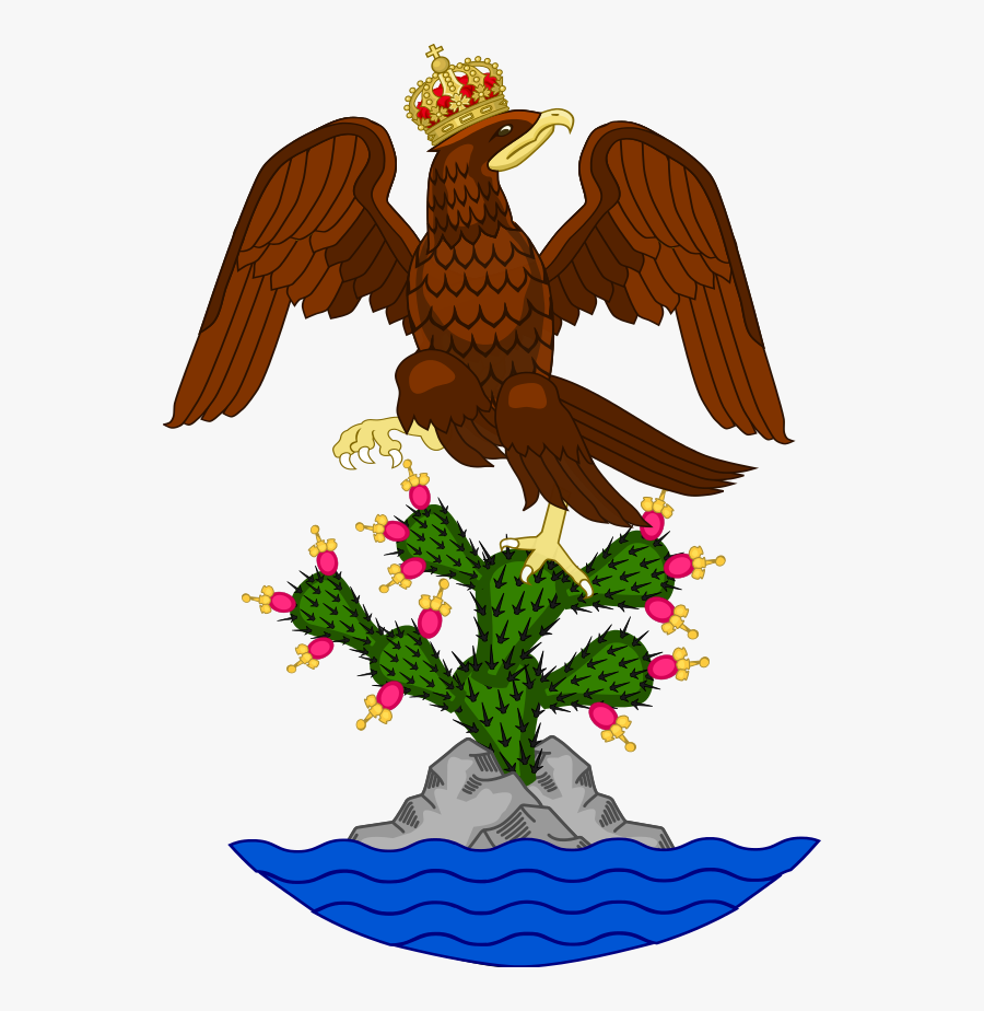 First Mexican Empire Flag, Transparent Clipart