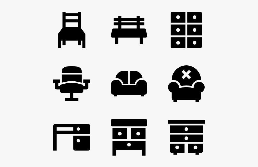 Clip Art Livingroom Icons Free Furnitures Climate Change