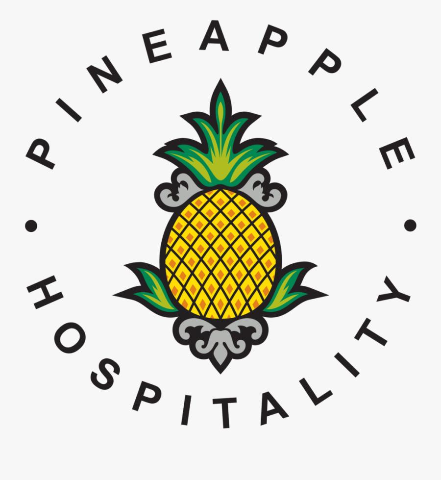 Pineapple Hospitality No Tagline Png 300dpi - Pineapple Hospitality Logo, Transparent Clipart