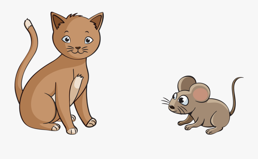 Mouse Is Smaller Than A Cat, Transparent Clipart