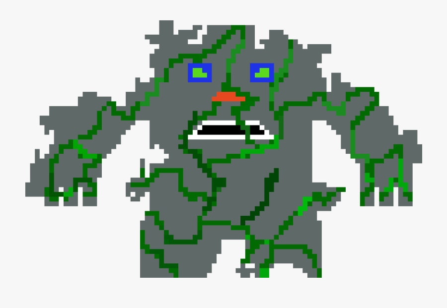 Stone Monster Clipart , Png Download - Stone Monster Pixel Art, Transparent Clipart