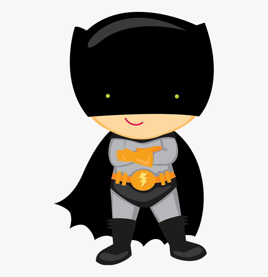 Superheroes Kids Clipart - Super Heroes Baby, Transparent Clipart