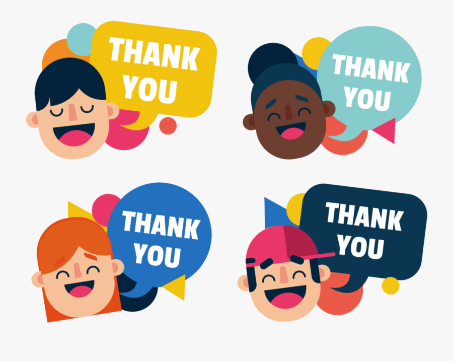 Saying Thank You Clipart, Transparent Clipart