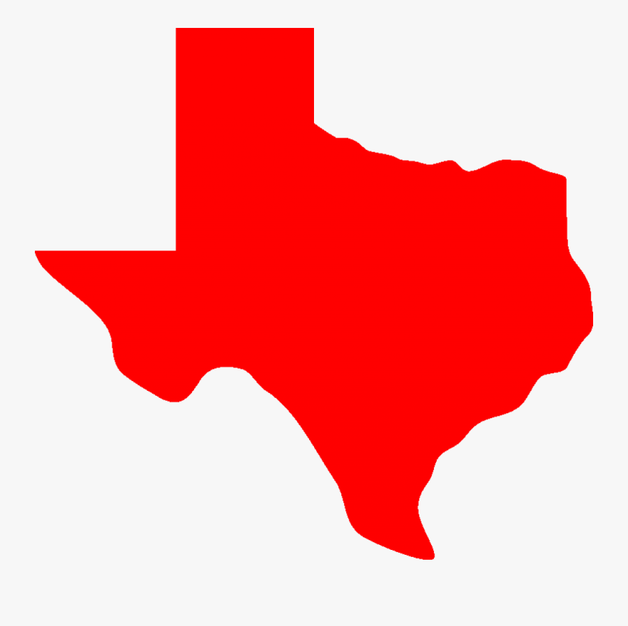 State Of Texas Crying Jordan - Texas Map Vector Silhouette, Transparent Clipart
