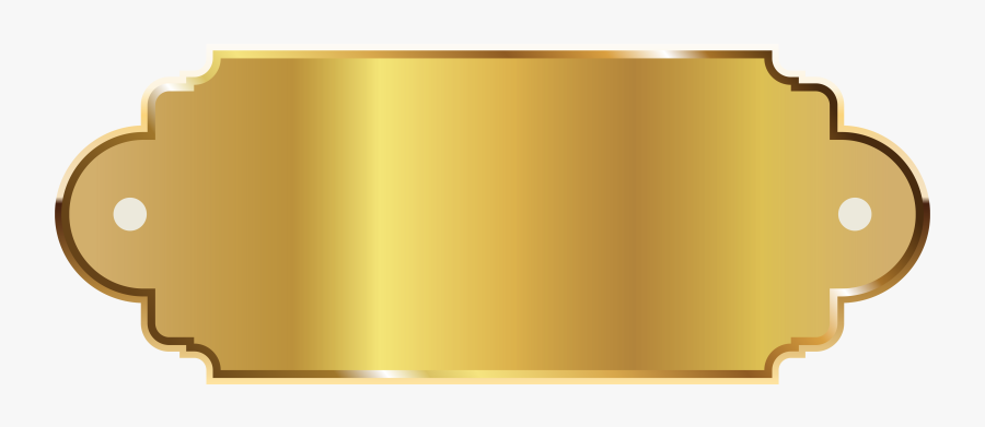 Golden Banner Gold Png, Transparent Clipart