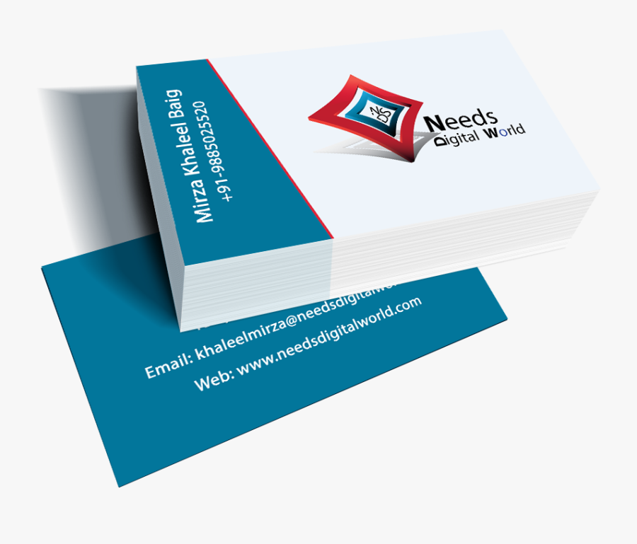 Business Card Png Free Download - Transparent Business Card Png, Transparent Clipart