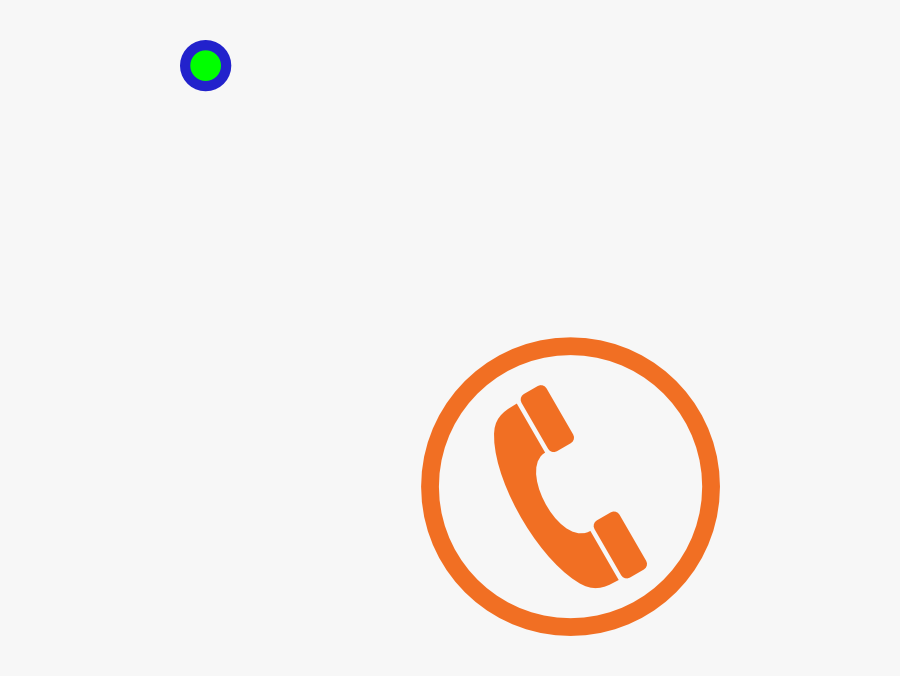Phone Business Card Icon Png Clipart , Png Download - Orange Telephone Symbol Png, Transparent Clipart