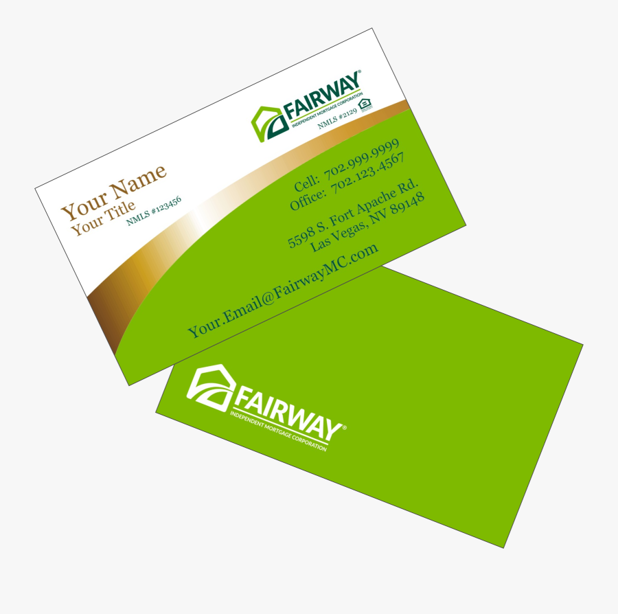 Business Card With Office And Cell Number, Transparent Clipart