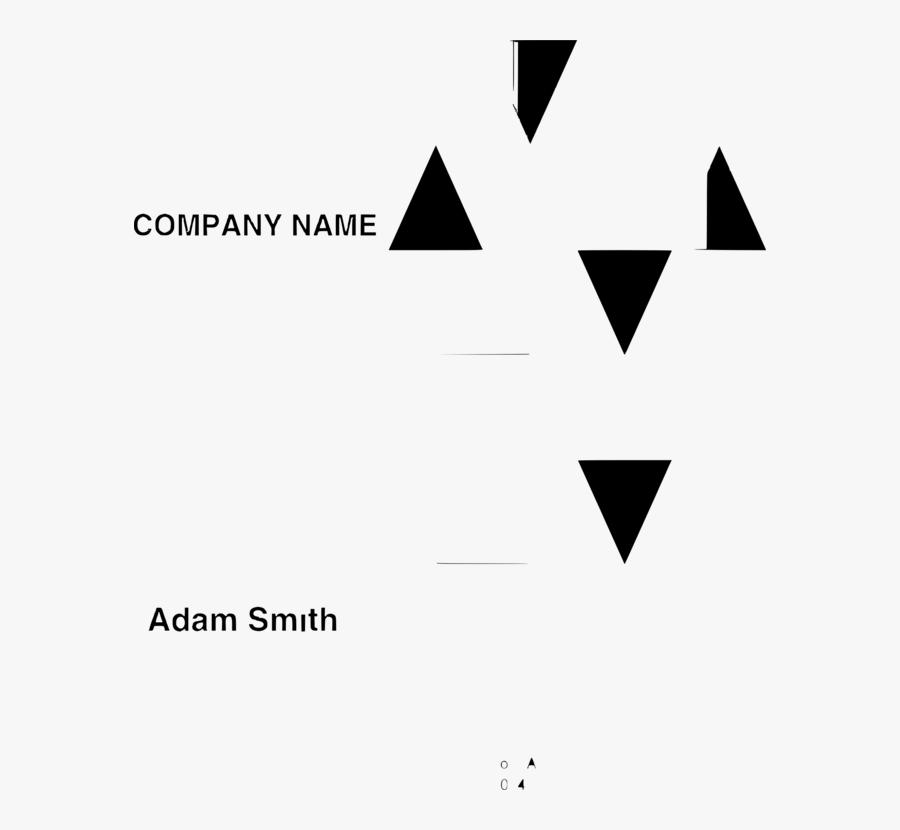 Symmetry,monochrome Photography,text - Triangle, Transparent Clipart