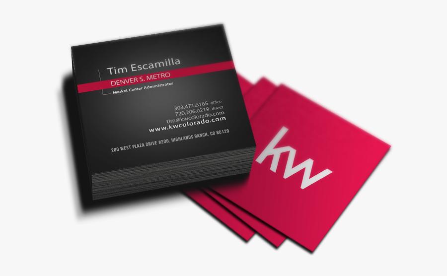 Transparent Business Clipart - Square Business Cards Png, Transparent Clipart
