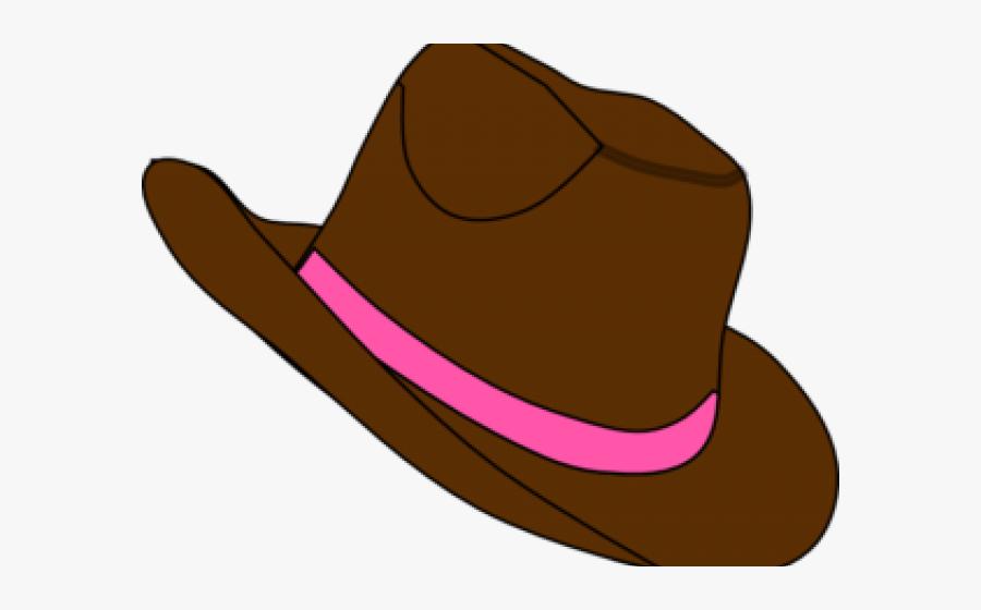 Cowboy Hat Clipart Cowgirl Hat - Cowboy Hat, Transparent Clipart