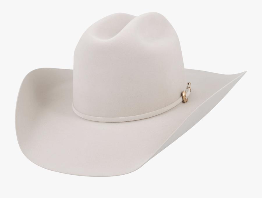 Fedora - White Cowboy Hat Transparent Background, Transparent Clipart