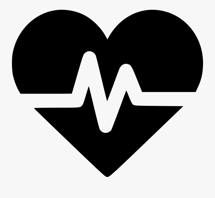 Heart Rate Svg Png Icon Free Download - Clip Art Heartbeat Rate Png, Transparent Clipart
