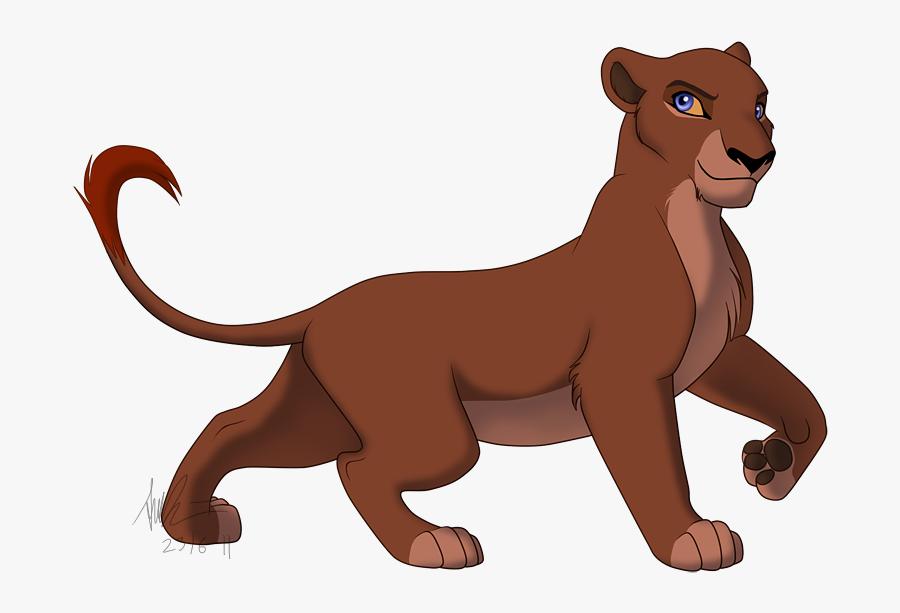 Lioness Clipart Realistic - Dark Lion Lion King, Transparent Clipart