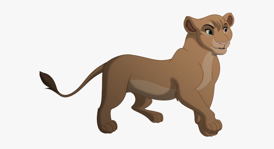 Lion King Pretty Lioness, Transparent Clipart
