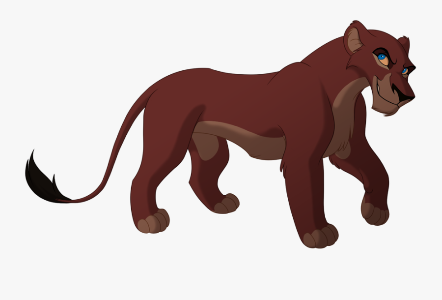 Female Lioness Lines By Kohu-arts On Clipart Library - Scar Female Lion King, Transparent Clipart