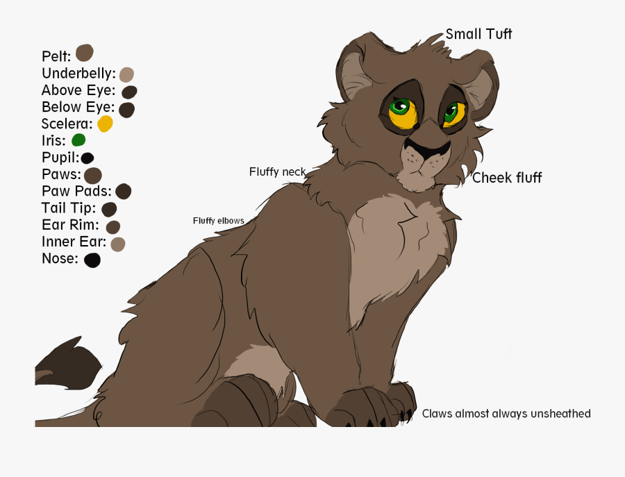 Lioness Reference Sheet - Lion King Ocs Ref Sheet, Transparent Clipart