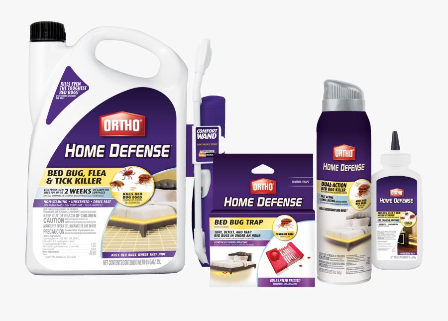 Clip Art Bug Bundle - Ortho Home Defense Bed Bug Killer, Transparent Clipart