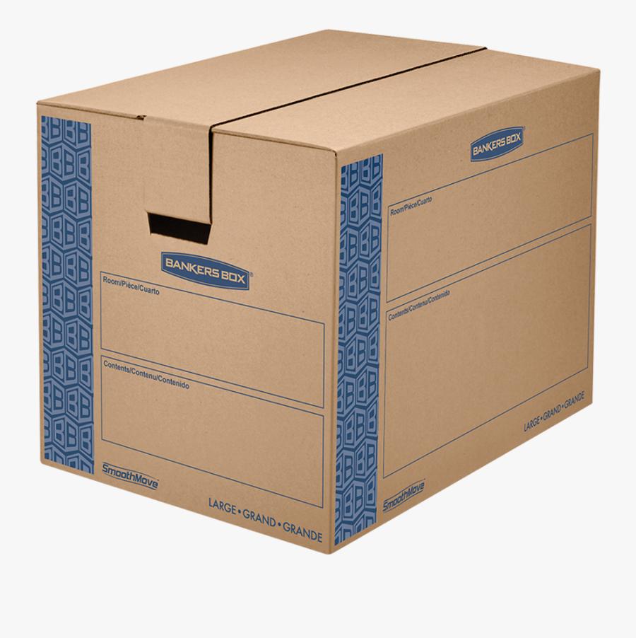 Transparent Moving Boxes Png - Walmart Moving Boxes, Transparent Clipart