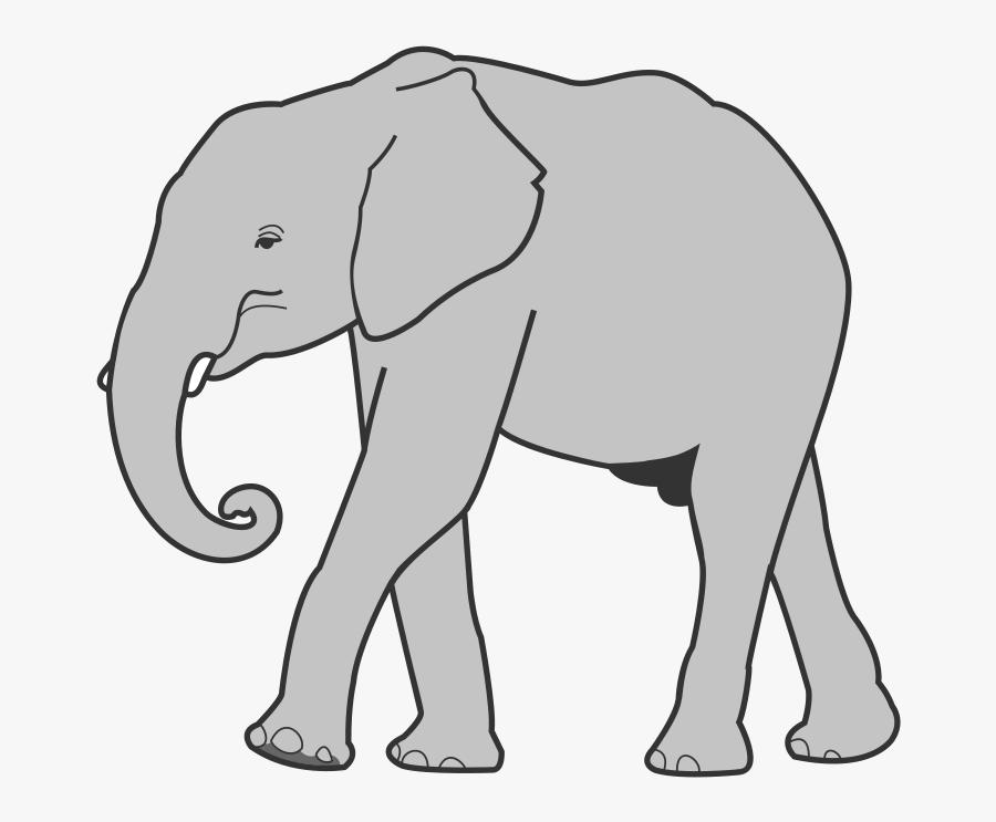 Cute Elephant Clipart Free Download Clip Art - Elephant Clipart - Png  Download (#27428) - PinClipart