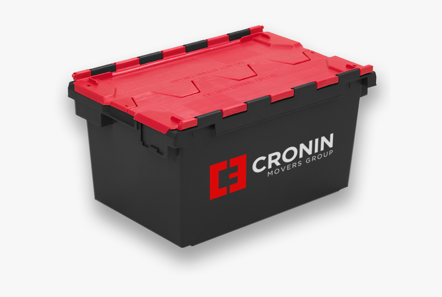 A Great Range Of Crates To Help With Your Move - 80 Ltr Storage Box, Transparent Clipart
