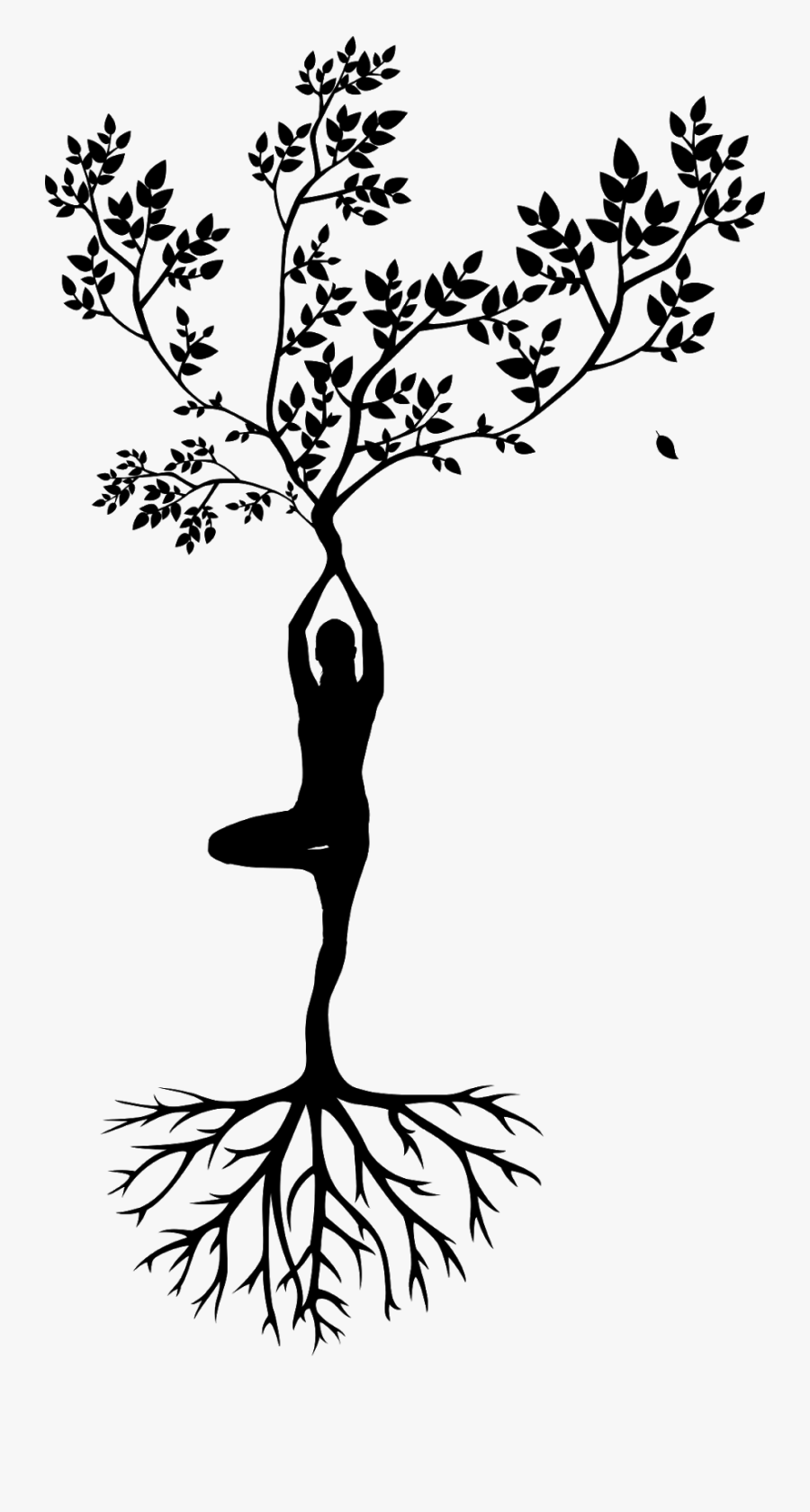 Picture Free Stock Meditation Silhouette Women Yoga Woman Tree Of Life Silhouette Free Transparent Clipart Clipartkey