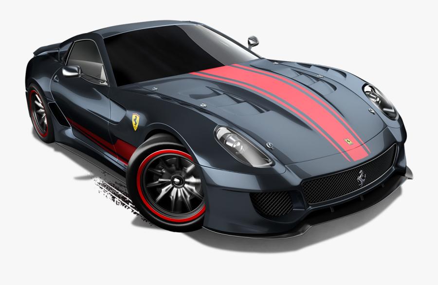 Transparent Ferrari Clipart - All Ferrari Collection Hot Wheels, Transparent Clipart