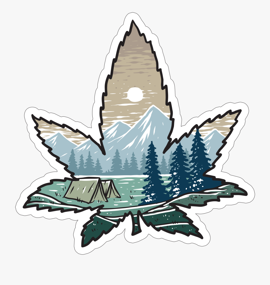 """Weed Leaf""""  Class=""""lazyload Lazyload Mirage Featured - Illustration, Transparent Clipart"""