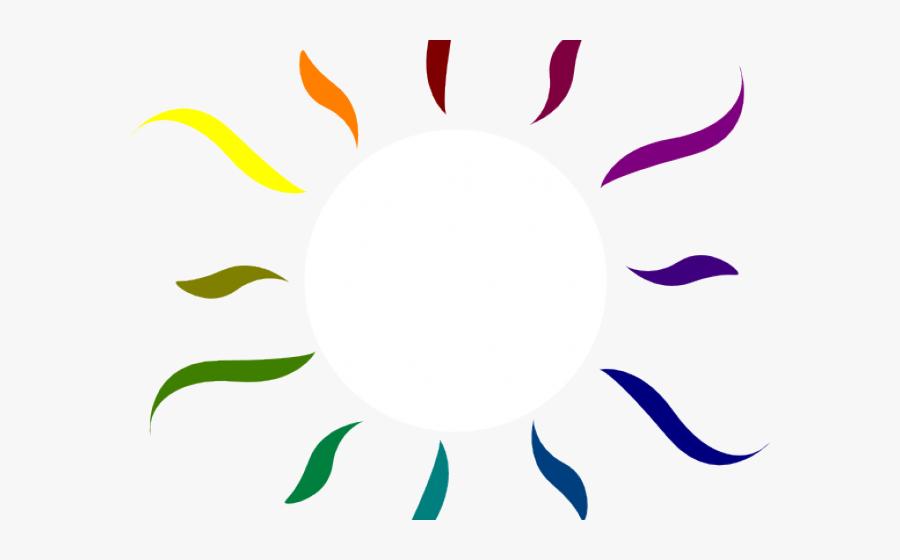Transparent Sun Ray Clipart - Circle, Transparent Clipart