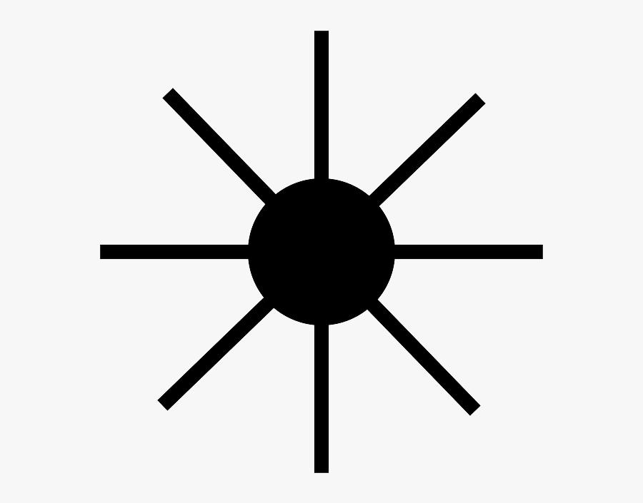Rays, Laser, Light, Beam, Sun, Symbol Clipart , Png - Chaos Symbol Png, Transparent Clipart