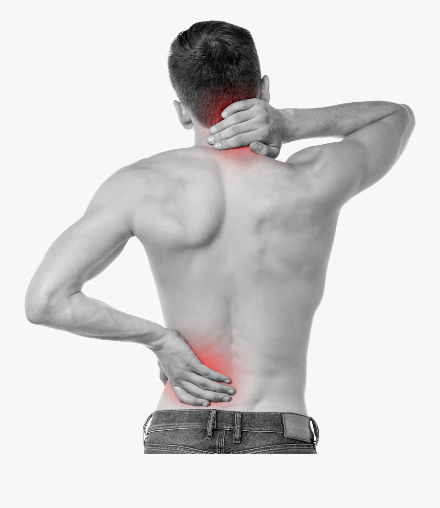 Back Pain Png Image - Sacroiliac Joint On Body, Transparent Clipart