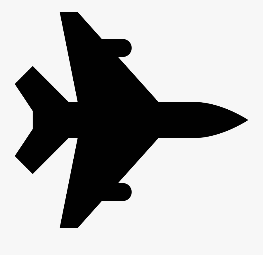 Jet Vector Airplane Icon Free Transparent Clipart Clipartkey