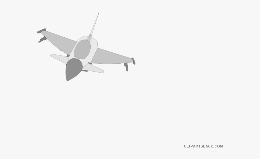Airplane Fighter Aircraft Clip Art Vector Graphics - Clipart Air Force Planes, Transparent Clipart