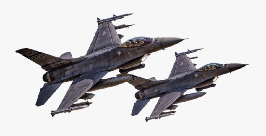 Clipart - General Dynamics F-16 Fighting Falcon, Transparent Clipart